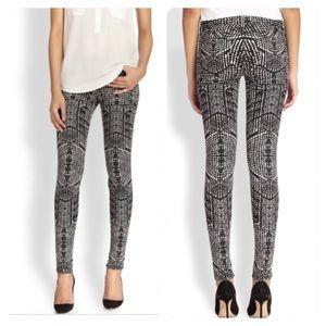 J Brand KALEIDOSCOPE Mid-Rise Super Skinny Jeans